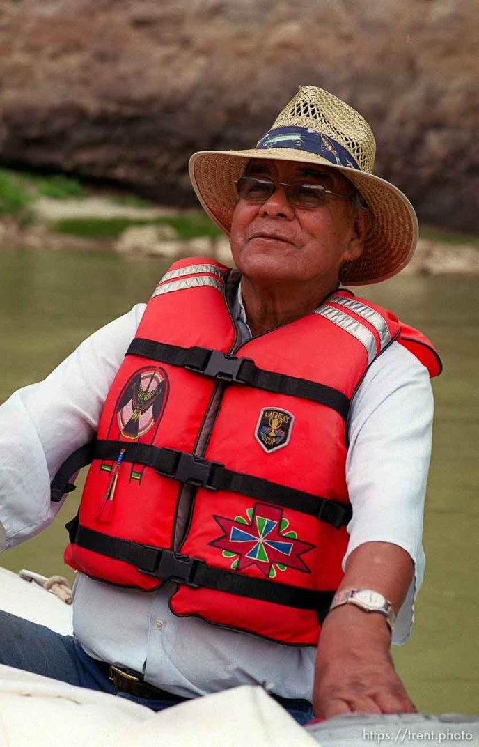 Clifford Duncan on a Native American river trip through Lodore Canyon and Dinosaur National Monument.