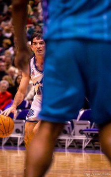 John Stockton Jazz vs. Charlotte Hornets. . 12/04/2001, 7:20:07 PM
