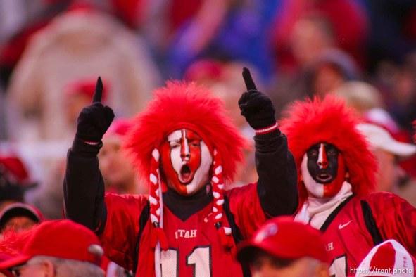 fans. Utah vs. BYU college football. ; 11.20.2004