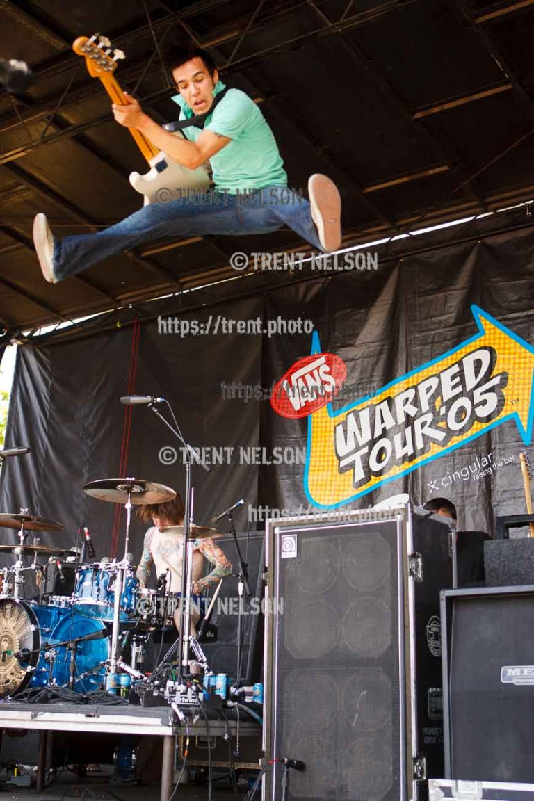 Fall Out Boy at Warped Tour