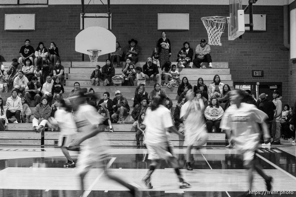 Whitehorse high school girls basketball vs. Grand.