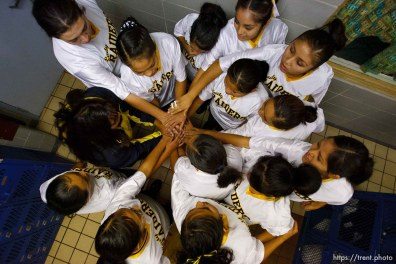 Whitehorse vs. San Juan high school girls basketball. 12.09.2005