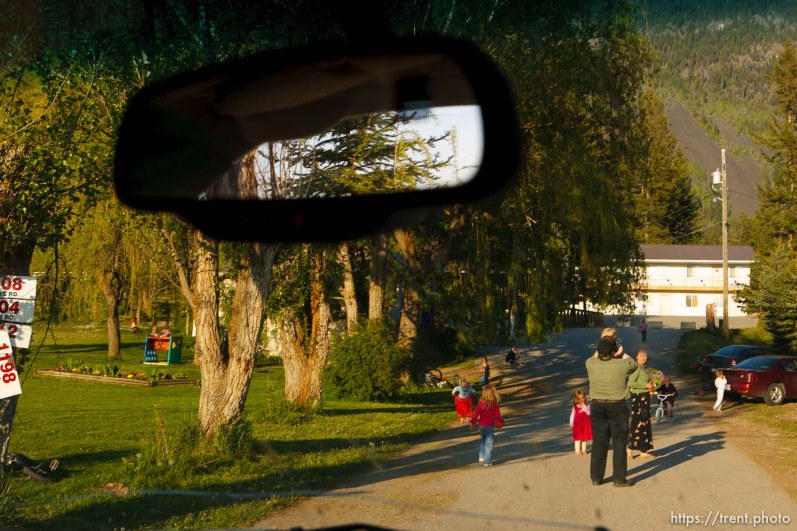 Polygamist Winston Blackmore in Bountiful, British Columbia.; 5.16.2006