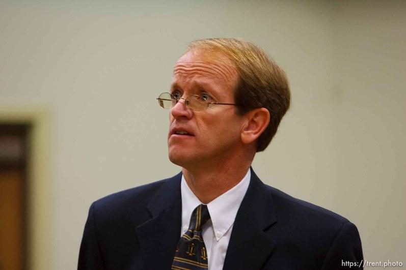 prosecuting attorney. St. George - Preliminary hearing, Warren Jeffs trial, 5th District Court. 11.21.2006
