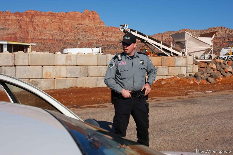 Hildale - Preston Barlow, an FLDS member and Deputy Marshal with the Hildale/Colorado City Town Marshals. for FLDS Hildale/Colorado City Town Marshal story; 12.20.2006