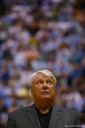 Salt Lake City - Utah Jazz vs. Golden State Warriors, NBA Playoff basketball, Game 5, at EnergySolutions Arena. Golden State Warriors head coach Don Nelson