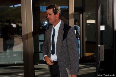 FLDS follower of Warren Jeffs. St. George - Warren Jeffs trial. The polygamous sect leader was charged with two counts of rape as an accomplice stemming from a marriage he officiated involving a 14-year-old girl and her 19-year-old cousin.