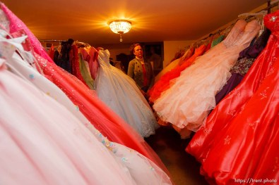 Gunnison- The basement of Lila Lee Christensen's dress shop has been contaminated by a leaking gas station tank at a nearby gas station. She is closing her family-owned business of 57 years.
