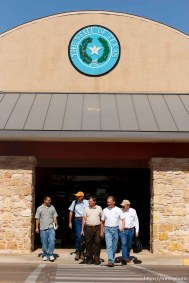 San Angelo - Attorneys gathered at the DFPS at the Ralph R. Chase building Sunday, June 1, 2008 to hammer out an agreement to return over 450 children that were taken from the YFZ ranch... Sunday June 1, 2008.