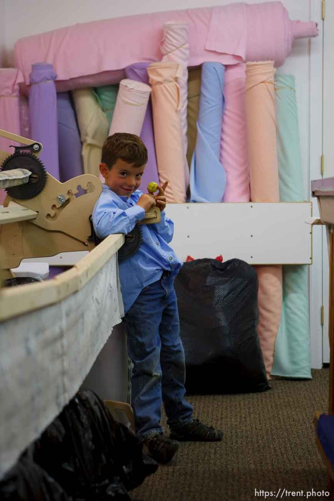 Westcliffe - . Monday, July 28, 2008. in the sewing room