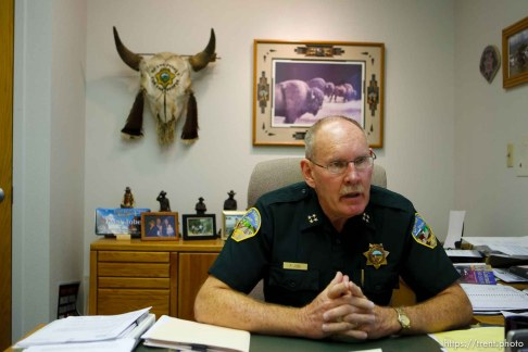 Westcliffe - . Wednesday, July 30, 2008. Sheriff Fred Jobe