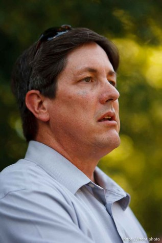 Salt Lake City - A hearing held at the Matheson Courthouse Wednesday, July 29, 2009 to decide on the sale of the Berry Knoll property in the United Effort Plan (UEP) land trust. lyle jeffs