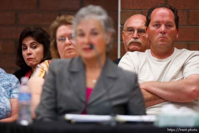 Trent Nelson | The Salt Lake Tribune Draper - Commutation hearing for death-row inmate Ronnie Lee Gardner Thursday, June 10, 2010, at the Utah State Prison. Kathy Potter, Craig Watson