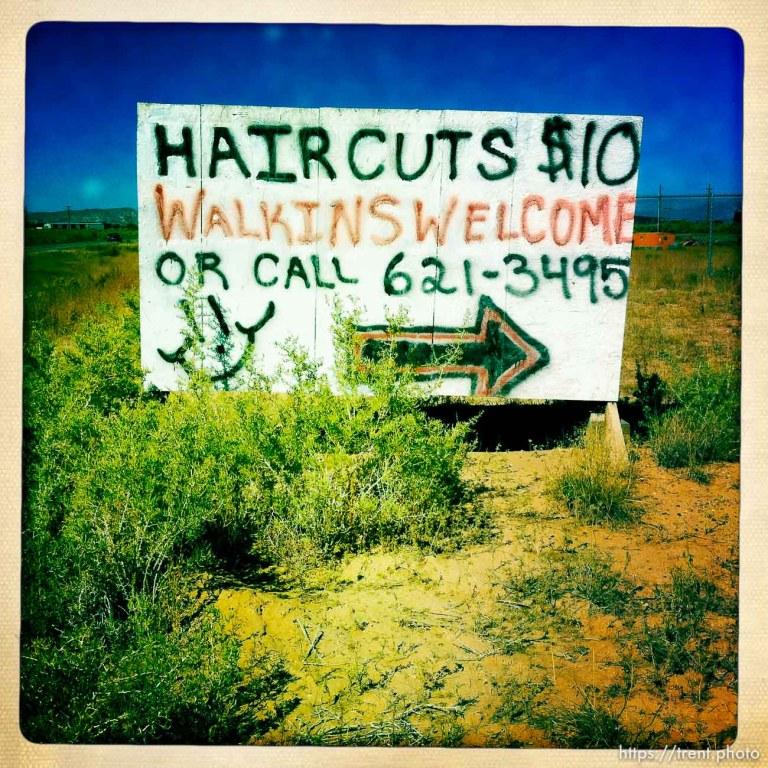 Haircuts $10 Walkins Welcome