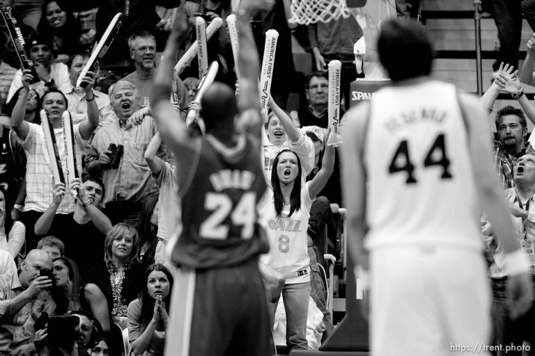Jazz v Lakers