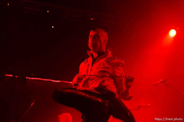 Tyler Glenn, Neon Trees at In The Venue in Salt Lake City, Utah, Friday, April 8, 2011.