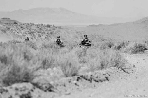 Trent Nelson | The Salt Lake Tribune Search for Susan Powell at Topaz Mountain, Utah, Tuesday, September 20, 2011. ATV