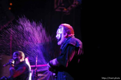 Trent Nelson | The Salt Lake Tribune Insane Clown Posse performs at The Great Salt Air (Saltair) Thursday, October 1 2009 west of Salt Lake City. violent j, shaggy 2 dope