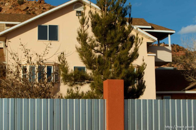 home and wall, Thursday November 29, 2012.