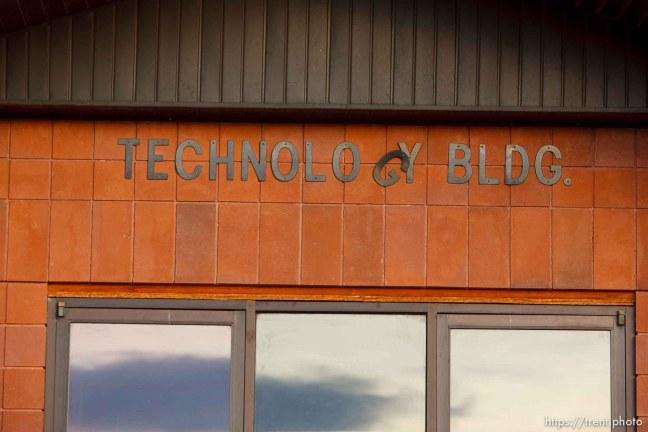 technology building, Thursday November 29, 2012.