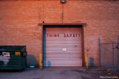 think safety sign, Wednesday December 12, 2012