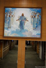 Trent Nelson | The Salt Lake Tribune Jesus Christ, second coming painting at the Missionary Training Center of the Church of Jesus Christ of Latter-day Saints in Provo Tuesday June 18, 2013.