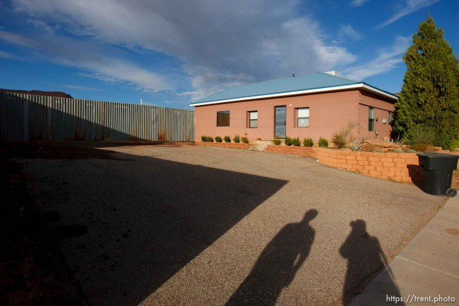 Trent Nelson | The Salt Lake Tribune what we are told is the FLDS church security office in Colorado City Tuesday, October 8, 2013.