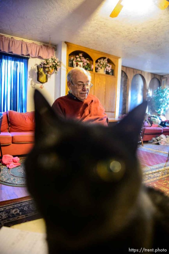 Trent Nelson | The Salt Lake Tribune Marvin Wyler in his Hildale home, Saturday December 14, 2013.