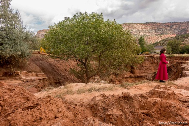Trent Nelson | The Salt Lake Tribune The devastation in Hildale Tuesday September 15, 2015, the day after a flash flood killed nine people (with four still missing) when an SUV and a van were washed off a road during a flash flood in this polygamous Utah-Arizona border community.
