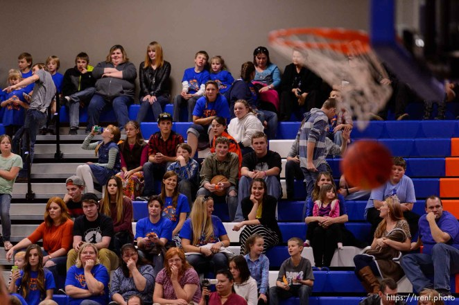 Trent Nelson | The Salt Lake Tribune Water Canyon School is scheduled to play its first high school basketball game in a gym that used to be the FLDS bishop's storehouse Hildale , Wednesday December 2, 2015.