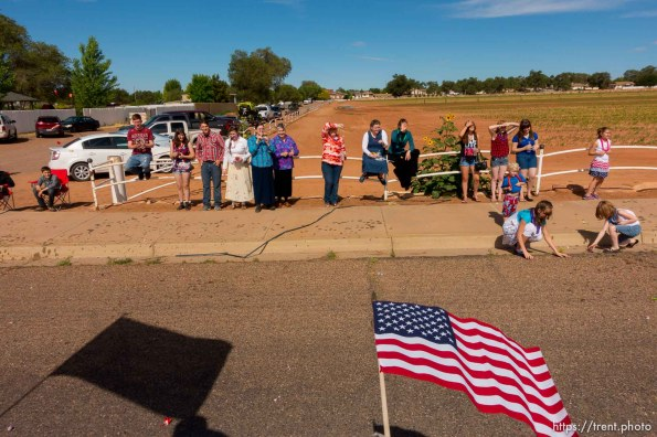 Trent Nelson | The Salt Lake Tribune The Colorado City and Hildale Fourth of July Parade makes its way down Central Street in Hildale, UT, and Colorado City, AZ, as part of an Independence Day celebration Saturday July 2, 2016.