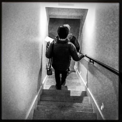 stairs, kathy stephenson, Tuesday January 10, 2017.