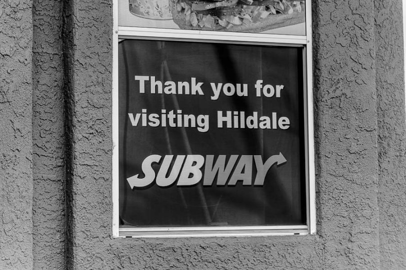 hildale subway, Sunday February 12, 2017.