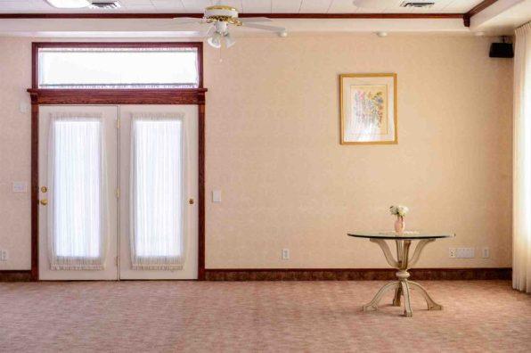 Trent Nelson | The Salt Lake Tribune The prayer room in the former home of Warren Jeffs in Hildale, Wednesday April 5, 2017.