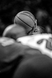 Utah Jazz guard Alec Burks (10) shoots a free throw as the Utah Jazz host the Chicago Bulls, NBA basketball in Salt Lake City Wednesday November 22, 2017.