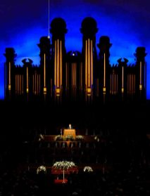 (Trent Nelson | The Salt Lake Tribune) President Russell M. Nelson speaks at funeral services for Elder Robert D. Hales at the Salt Lake Tabernacle in Salt Lake City Friday October 6, 2017.