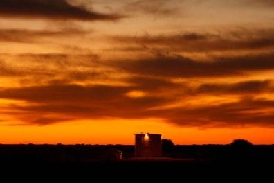 Eldorado - water tank? YFZ Ranch. Wednesday, January 7, 2009.; 01.07.2009