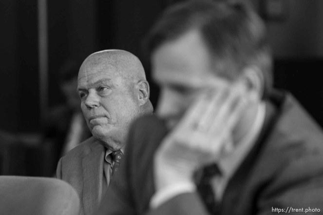 Trent Nelson | The Salt Lake Tribune Bruce Wisan at a court hearing concerning Utah's management of the United Effort Plan Friday, February 15, 2013 in Salt Lake City.