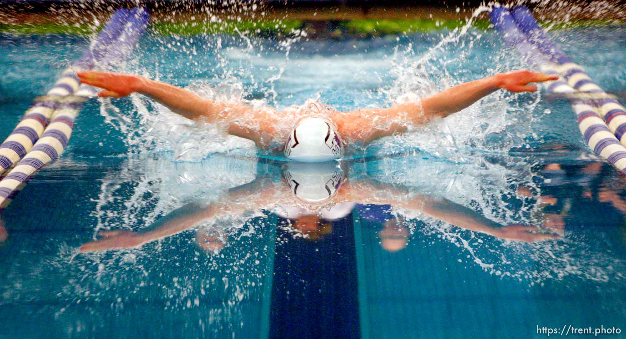 Trent Nelson   The Salt Lake Tribune Tooele High School's Brand Johnson won the Men's 100 Yard Butterfly at the Utah State 4A Swimming Championships at BYU in Provo, Utah, Saturday, February 5, 2011.
