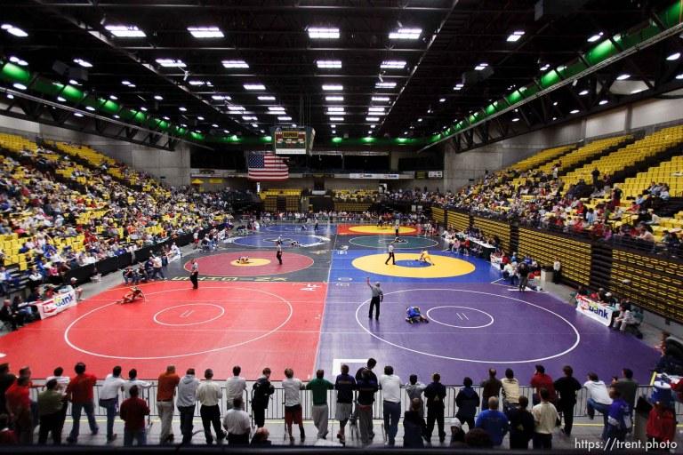 State Wrestling Quarterfinals
