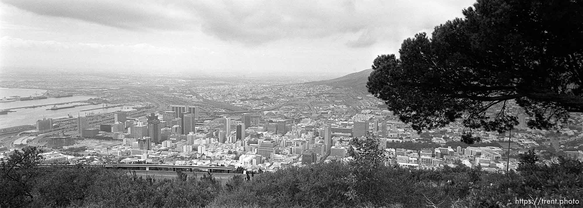 Cape Town from the Lion's Rump.