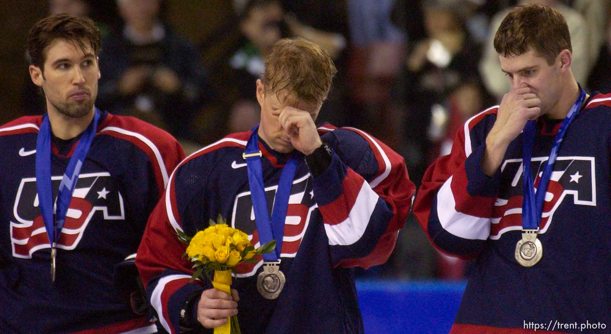 USA vs. Canada, gold medal hockey, Sunday afternoon at the E Center, 2002 Olympic Winter Games.; 02.24.2002, 3:13:58 PM