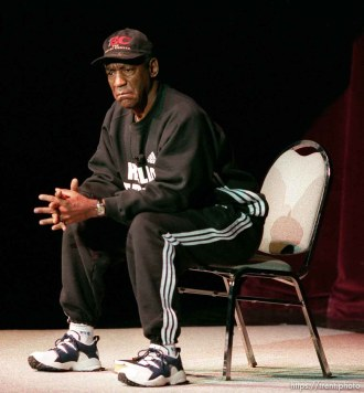 Bill Cosby performs at the opening of the Eccles Center for the Performing Arts.