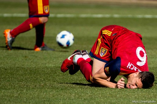 Real Salt Lake midfielder Damir Kreilach (6).