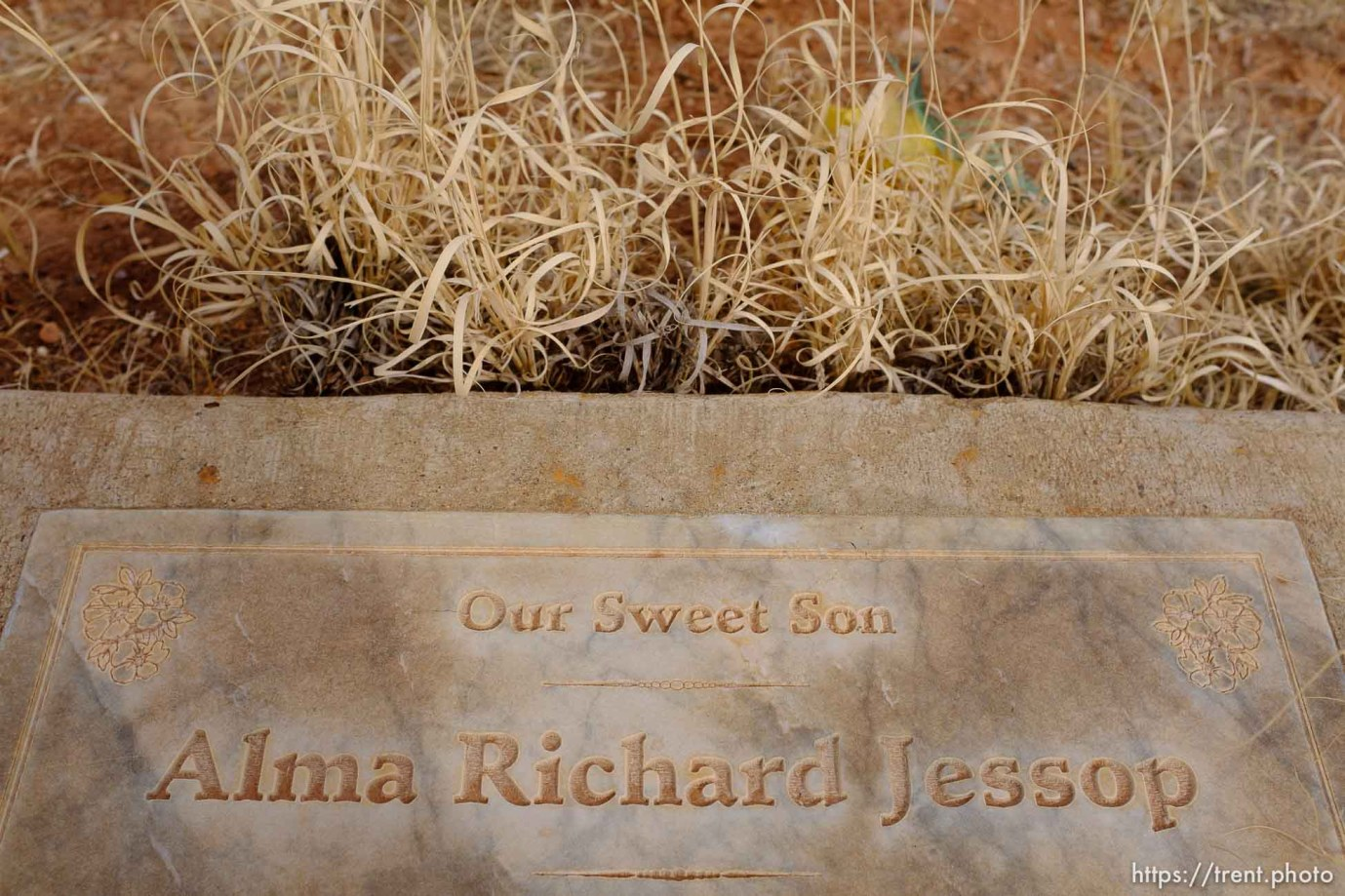 Alma Richard Jessop, 1989-1994. Our Sweet Son. Isaac W. Carling Memorial Park, Colorado City, Friday March 16, 2018.