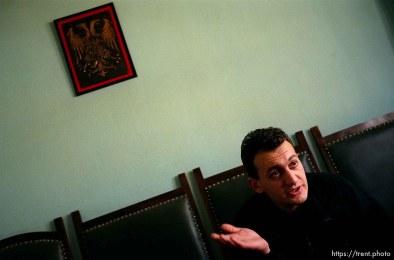 Spokesman for the Serbian National Community, Nikola Ralevic.