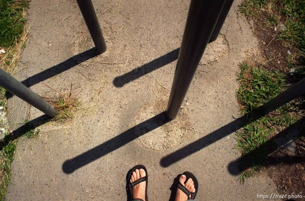 Trent feet and posts at California High School.