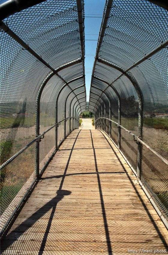 The bridge near California High School