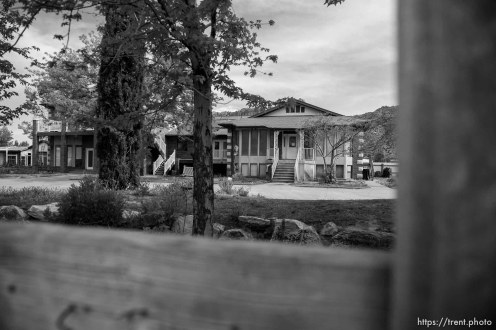 Trent Nelson   The Salt Lake Tribune An empty home facing eviction in Colorado City, AZ, Tuesday May 9, 2017.