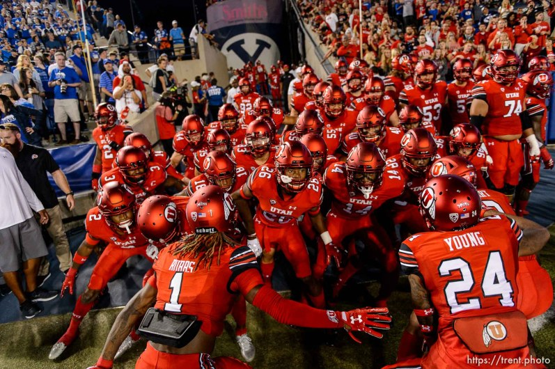 (Trent Nelson   The Salt Lake Tribune) as BYU hosts Utah, NCAA football in Provo, Saturday September 9, 2017.
